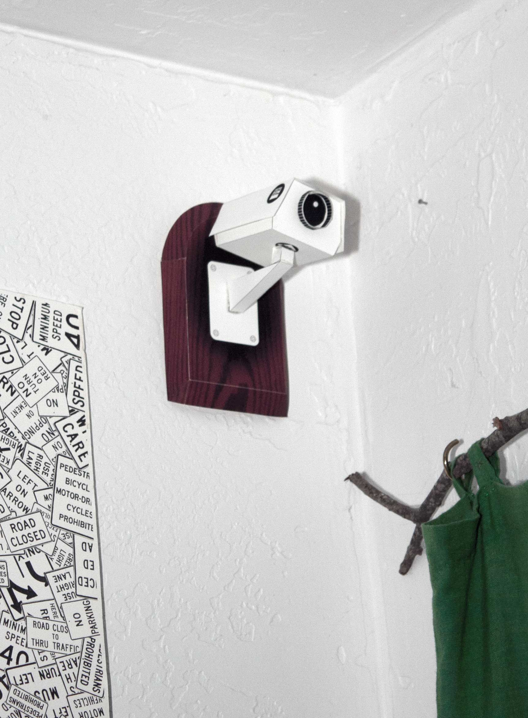 CCTV Security Camera Free Paper Model Download