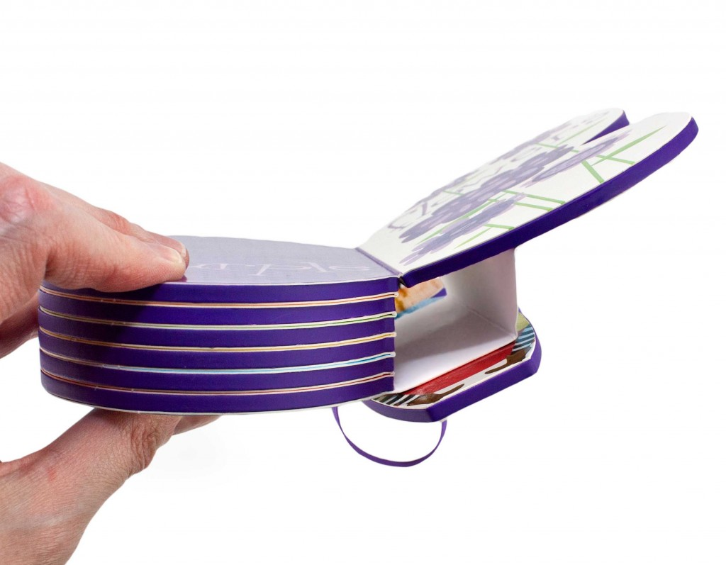 spine of shaped board book