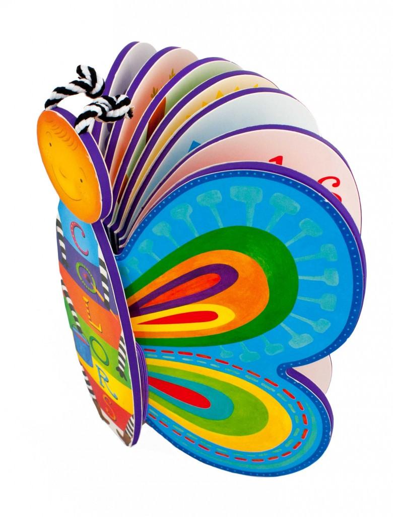 shaped board book