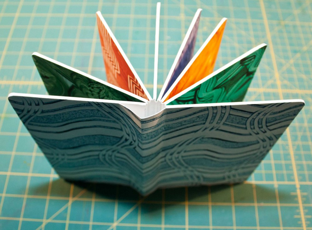 How To Make A Book Cover With Cardboard ~ Stiff leaf binding chewing with the paper chipmunk