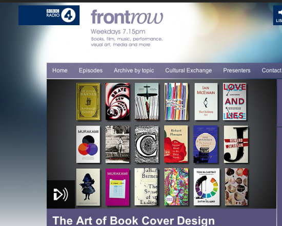 Front Row: The Art of Book Cover Design