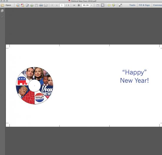 PDF of card