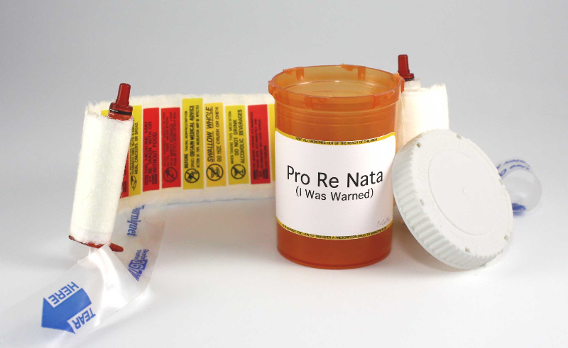 Pro-re-nata (I Was Warned)